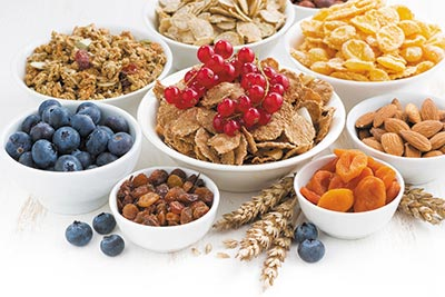 Types of Dietary Fibers and Their Health Promotional Effects