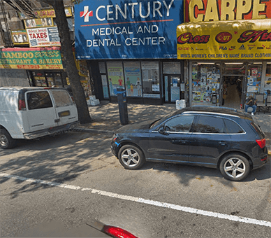 Century Medical & Dental Center Icon Parking Option Flatbush