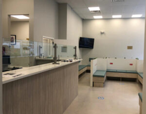 Medical Center in Midtown Manhattan, NY (Waiting Area)